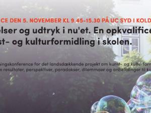 Konference: Få anbefalinger til kunst- og kulturformidling i skolen